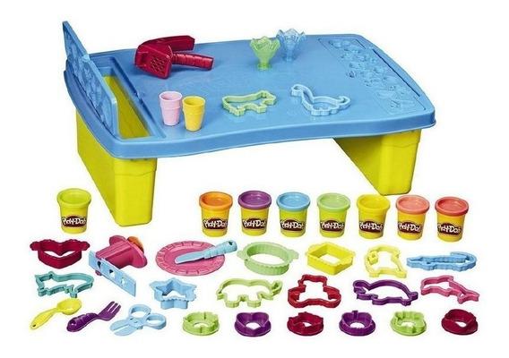 Brinquedo Play Doh Mesa Criativa Massinha De Modelar B9023