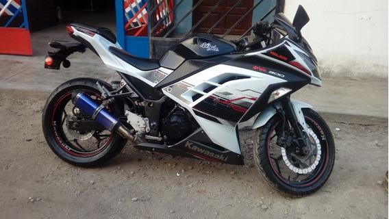 Moto Kawasaki Ninja 300 Modelo 2014 Special Edition