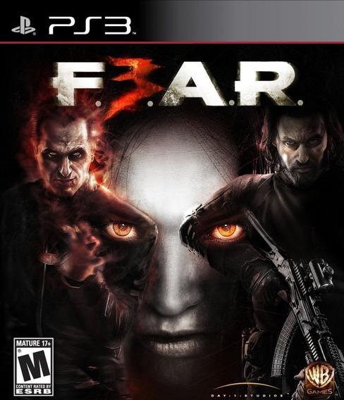 Jogo Playstation 3 Fear 3 Ps3 Lacrado