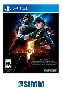 Resident Evil 5 - Ps4 Físico Nuevo Original