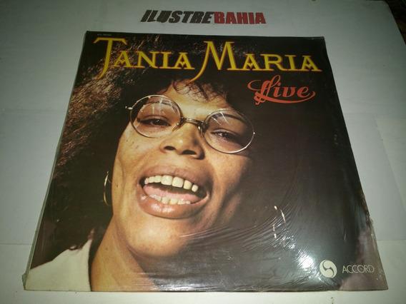 Lp Tania Maria Live Ed. France 1978 Lacrado