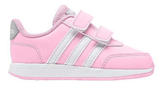 Tênis Feminino Infantil adidas Vs Switch Rosa Original