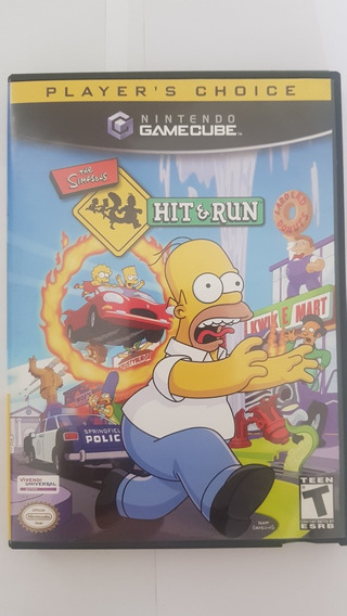 The Simpsons Hit And Hun Game Cube