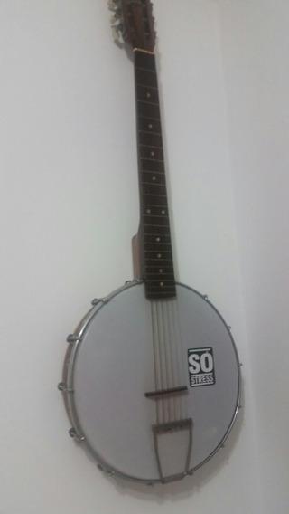 Banjo 10 Cordas Ótima Sonoridade Luthier Darif Raridade