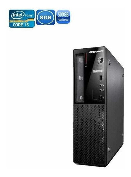 Cpu Desktop Lenovo E73 I5 8gb 500hd