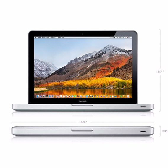 Macbook Pro 2.4 Ghz Core I5 4 Gb 1333 Mhz Ddr3 Intel Hd 3000