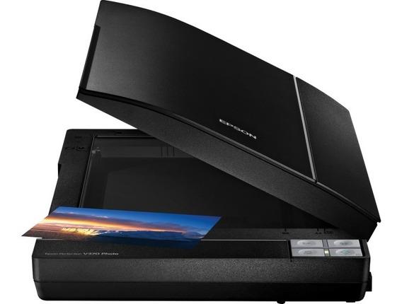 Scanner Epson Perfection V370 Colorido 4800x9600 Dpi Novo+nf