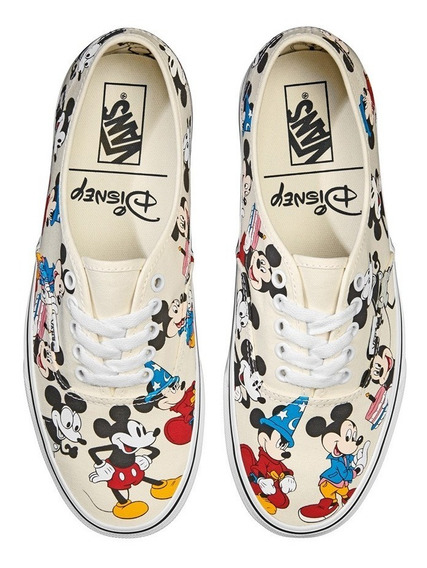 Tenis Vans Disney Mickey Birthday Vn0a38emuj2 Junior