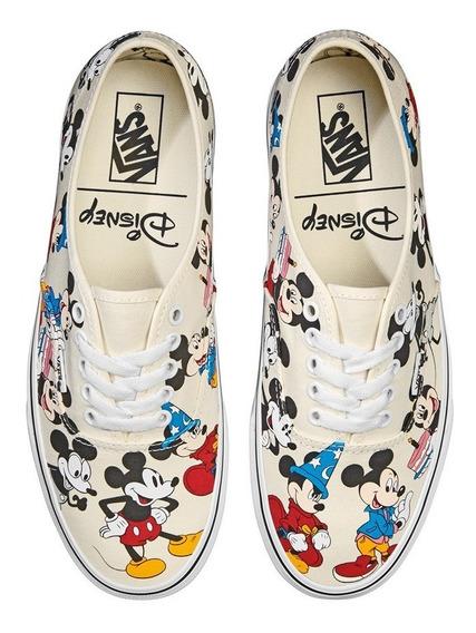 Tenis Vans Disney Mickey Birthday Vn0a38emuj2 Junior