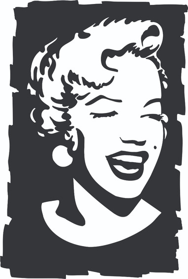 Adesivo Parede Marilyn Monroe