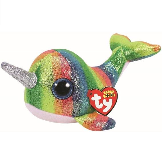 Beanie Boos Ty Peixe Nori Unicornio Do Mar 14 De Janeiro