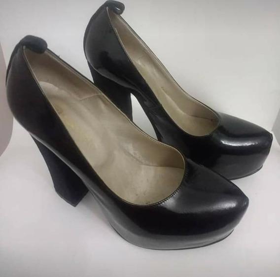 Zapato Stiletto Charol 37 Batistella