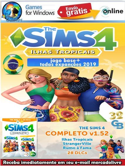 Mega Pack The Sims 4 2019 Ilhas Tropicas + 31 Dlcs Digital