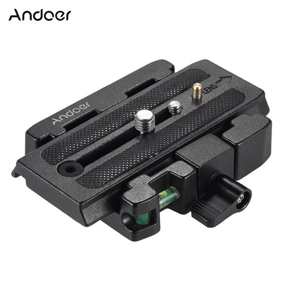 Andoer Video Camera TriPod Quick Release Bra?adeira