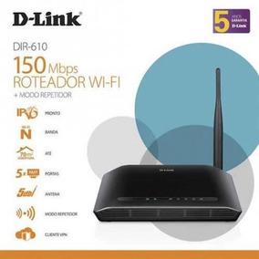 Roteador D-link Wireless 4 Portas N 150mbps Dir-610
