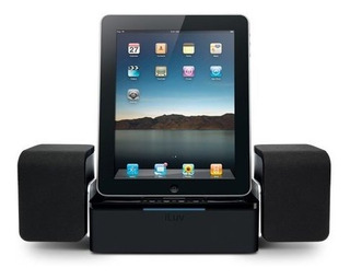 Iluv Imm747 - Base De Altavoces Para Apple iPad -3g, iPad 2