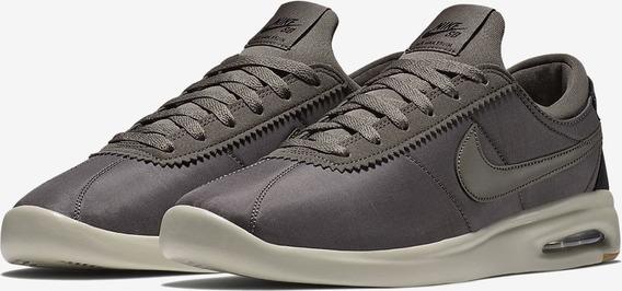 Zapatillas Nike Sb Air Max Bruin Textil Marron Hombre Mujer