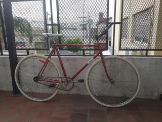 Bicicleta Fixie Rodado 28 Single Speed Como Nueva Y Lista !