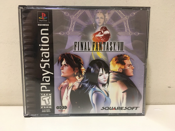 Final Fantasy Viii Sony Playstation Ps1 Psone Completo