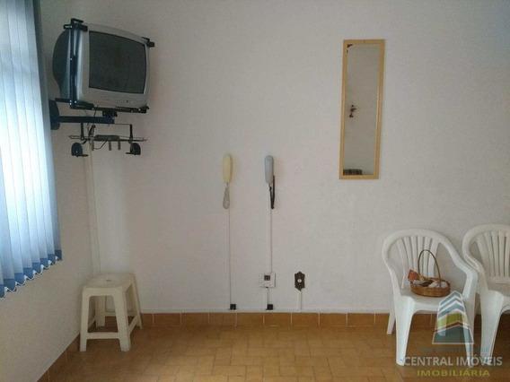 Kitnet, Canto Do Forte, Praia Grande - R$ 120.000,00, 40m² - Codigo: 3076 - V3076
