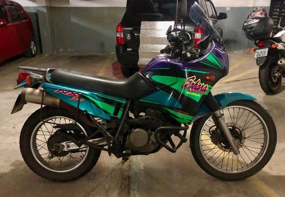 Moto Honda Nx 350 Sahara 1998/1998. Top! Moto De Mulher!