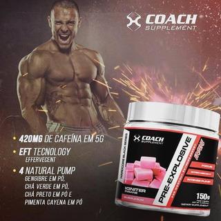 Pre-explosive (150g) - Chiclete - Coach Supplement
