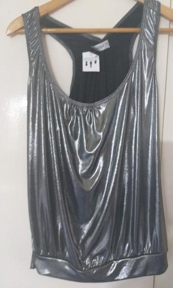 Blusa De Vestir Mujer Merengue M Impecable