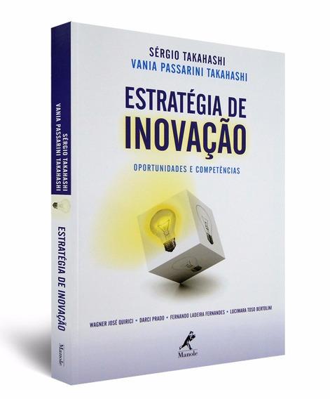 Livro Estratégia De Inovação - Oportunidades E Competências