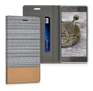 Funda Protectora De Estilo Kwmobile Book Para Sony Xperia X
