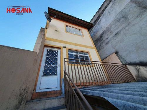 Sobrado Com 2 Dormitórios Para Alugar, 100 M² Por R$ 1.200,00/mês - Jardim Marcelino - Caieiras/sp - So0968