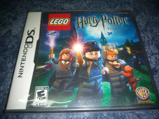Nintendo Ds 3ds Video Game Lego Harry Potter Years 1-4 Nuevo