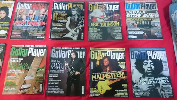 Revistas Guitar Player 2010-2011