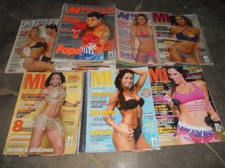 Lote De 3 Revistas Muscle In Form