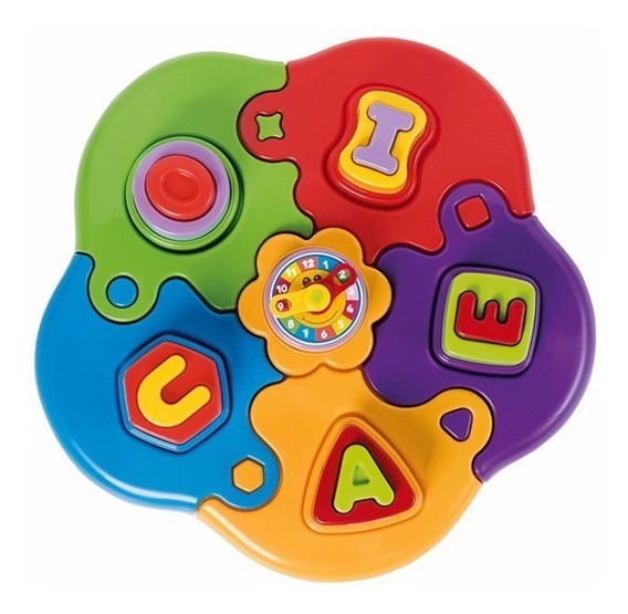 Brinquedo Educativo Pedagógico Quebra Cabeça Infantil Letras
