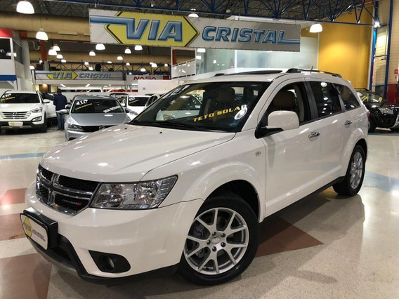 Dodge Journey 3.6 Rt V6 * C/ Teto Solar * Interior Caramelo