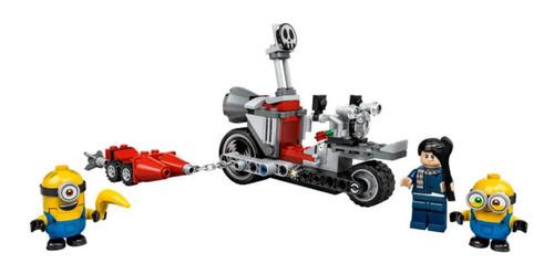 Lego Minions Perseguição De Moto Sem Fim - Lego