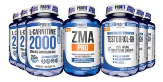 3x L-carnitina 120cps + Zma Pro + 3x Testodrol Gh - Profit