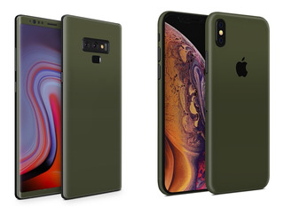 Skin Verde Militar Apple Samsung Huawei Lg Sony Xiaomi Etc