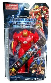Muñeco Iron Man Hulkbuster Articulado End Game