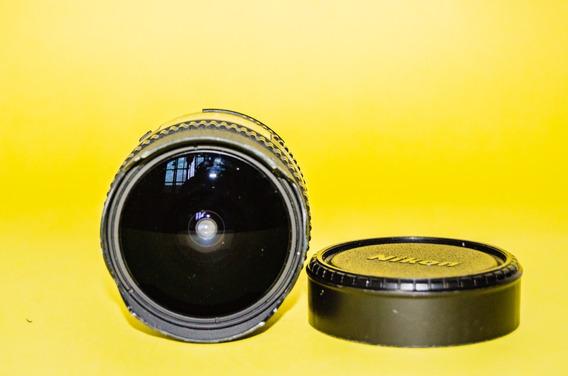 Lente Nikon 16mm F/2.8d Af Fisheye Nikkor Olho De Peixe