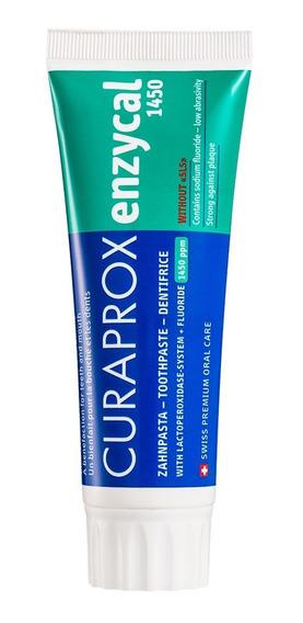Pasta De Dente Creme Dental Dentes Enzycal 1450 Curaprox