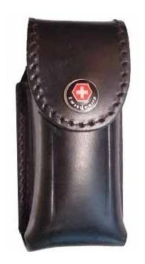 Funda Para Navaja De Cuero Suela London Pasa Cinturon 130mm