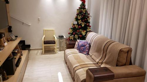 Village Com 2 Dormitórios À Venda, 103 M² Por R$ 530.000,00 - Marapé - Santos/sp - Vl0004