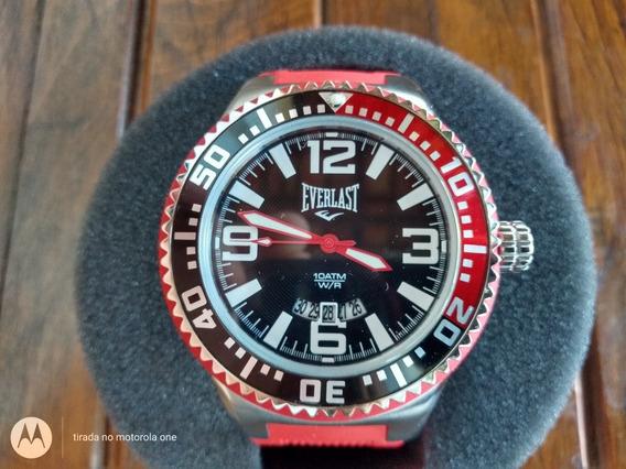 Relógio Everlast E308. Original E Único No Ml.