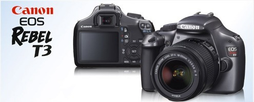 Câmera Digital Dslr Canon T3 + Kit De Lentes 18-55mm