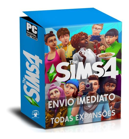 The Sims 4 - Completo 2019 - Todas As Expansões - Digital Pc