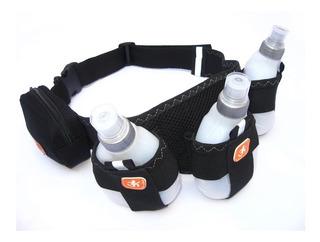 Cinturón De Hidratacion 3 Botellas Noaf Running Trekking