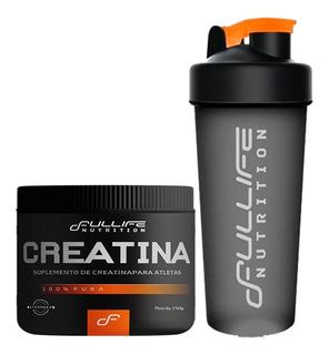 Creatina + Coqueteleira Academia - Fullife Nutrition
