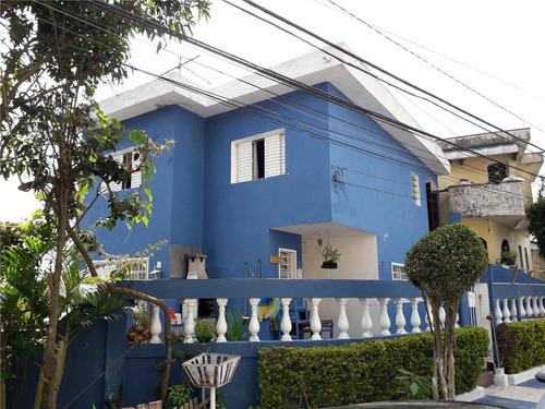 Imagem 1 de 15 de Sobrado À Venda, 3 Quartos, 4 Vagas, Oratório - Santo André/sp - 26268