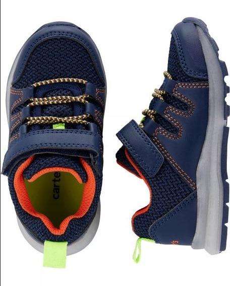 Zapatos Tenis Carters Niño Alumbra, Con Luces Tallas: 22y23.